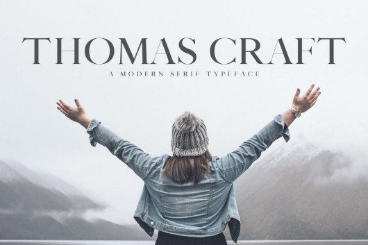 Thomas Craft - Modern Serif Typeface