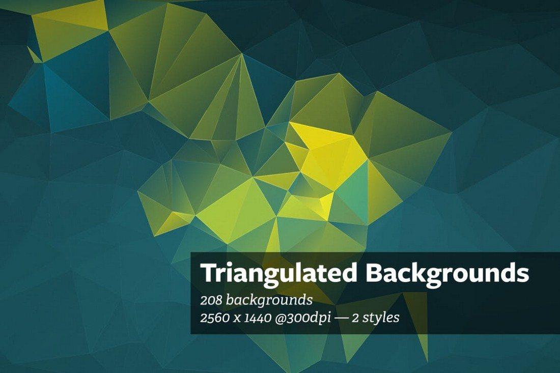 20+ Beautiful Geometric & Polygon Background Textures 48