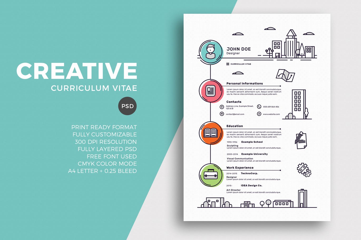 The Best CV & Resume Templates: 50 Examples 2
