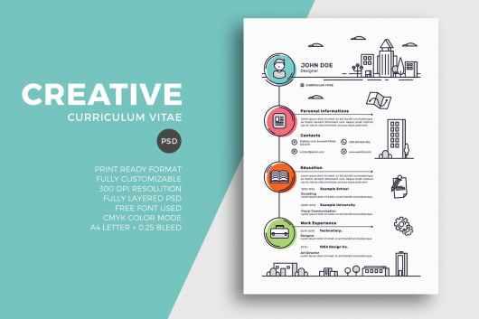 50  best cv  u0026 resume templates of 2019