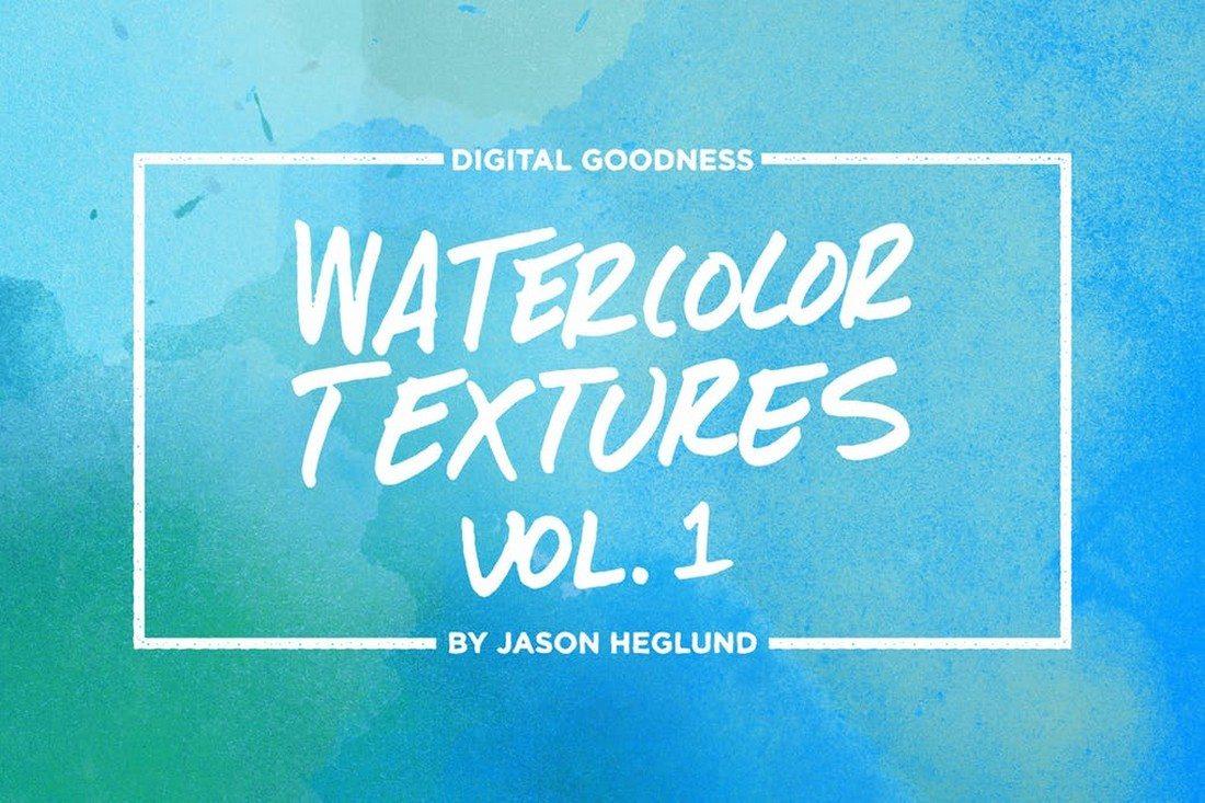 20+ Best Watercolor Background Textures 28
