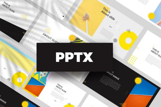 Yellow - Creative Powerpoint Template