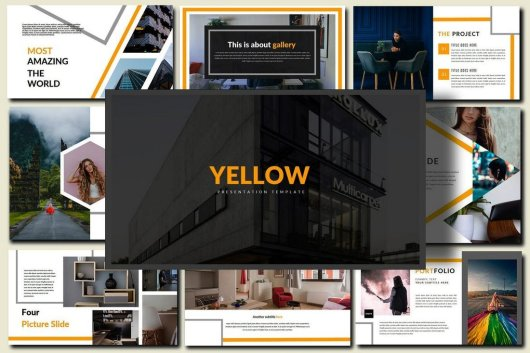 Yellow - PowerPoint Template