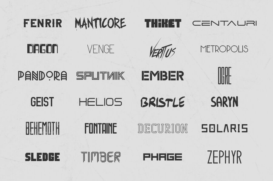 Download 30 Premium Font Bundles | Design Shack