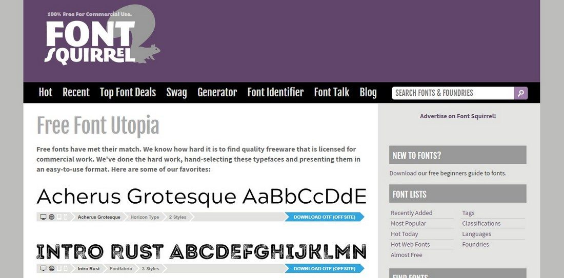 10 Best Places to Find Free Fonts 3