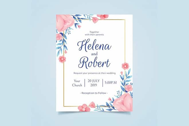 20 Best Free Invitation Templates