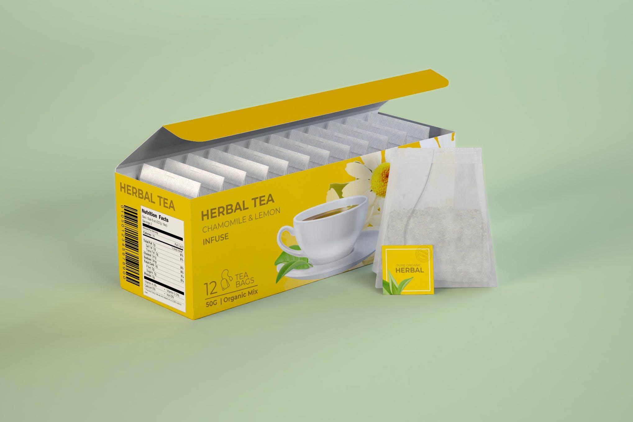 Don't just toss that soggy black tea. 60 Stunning Food Drink Packaging Design Mockups Design Shack