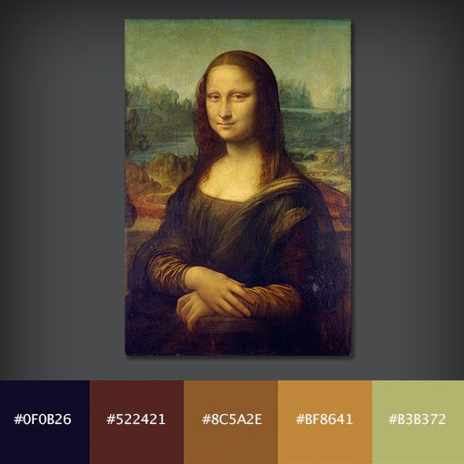 painterpallettes 2 - 10 Free Color Palettes From 10 Famous Paintings