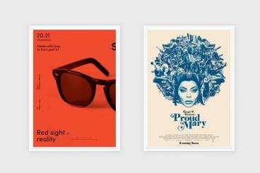 10 poster design ideas inspiration