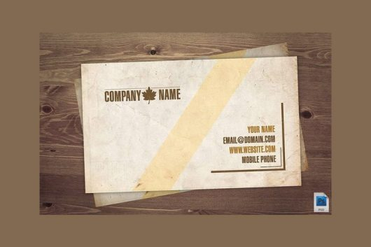 vintage-business-card