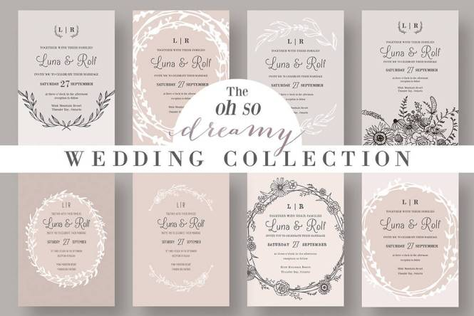 Fun Wedding Invitations Which Unique And Suitable For Awesome Invitation Templates 429