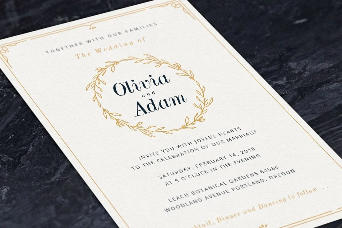 how to design wedding invitations 7
