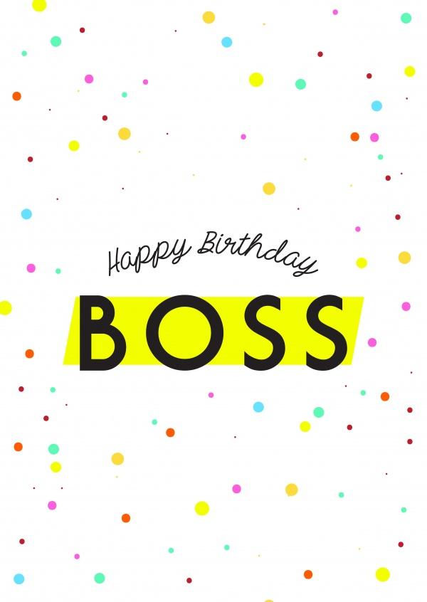 Happy Birthday Boss Birthday Cards Send Real