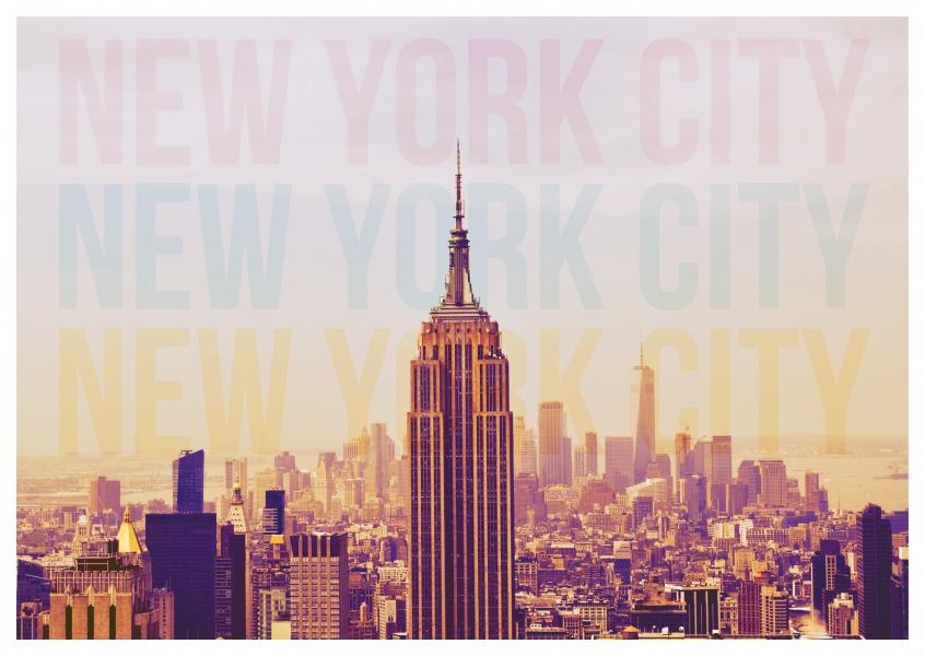 nyc skyline poster urlaubsgrusse und spruche echte postkarten online versenden