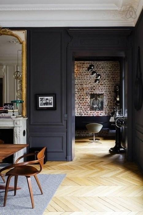 Parisian dining room