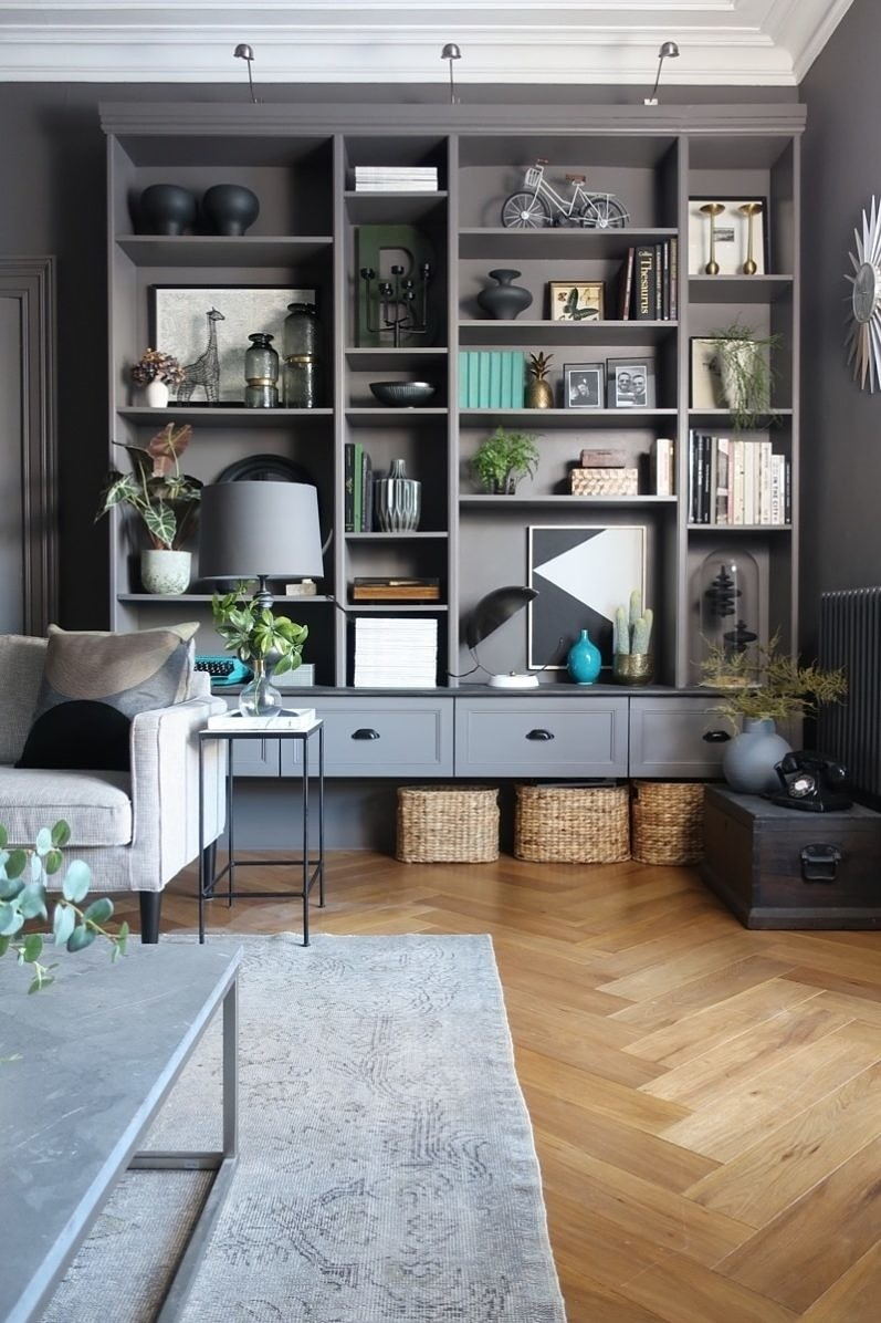 ikea billy bookcase built in hack designsixtynine. Black Bedroom Furniture Sets. Home Design Ideas