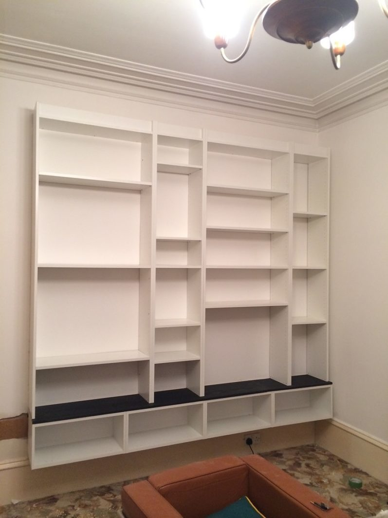 Ikea Billy Bookcase Built In Hack Designsixtynine