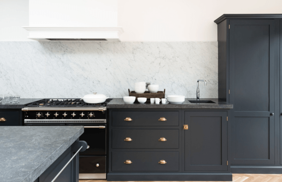 devol dark kitchen cabinet inspiration
