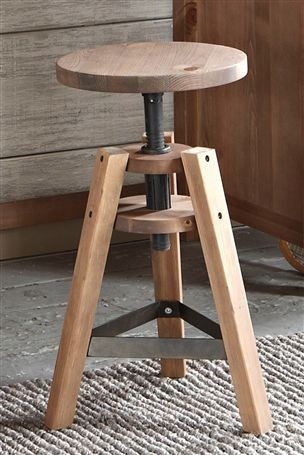 Next Home Industrial Hoxton Stool
