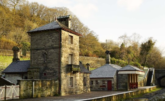 Landmark trust Alton Railway Station - Churnet Valley.