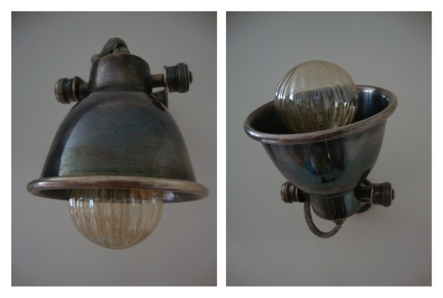 Rustic Vintage Industrial Kitchen - Rockett St George Task lighting