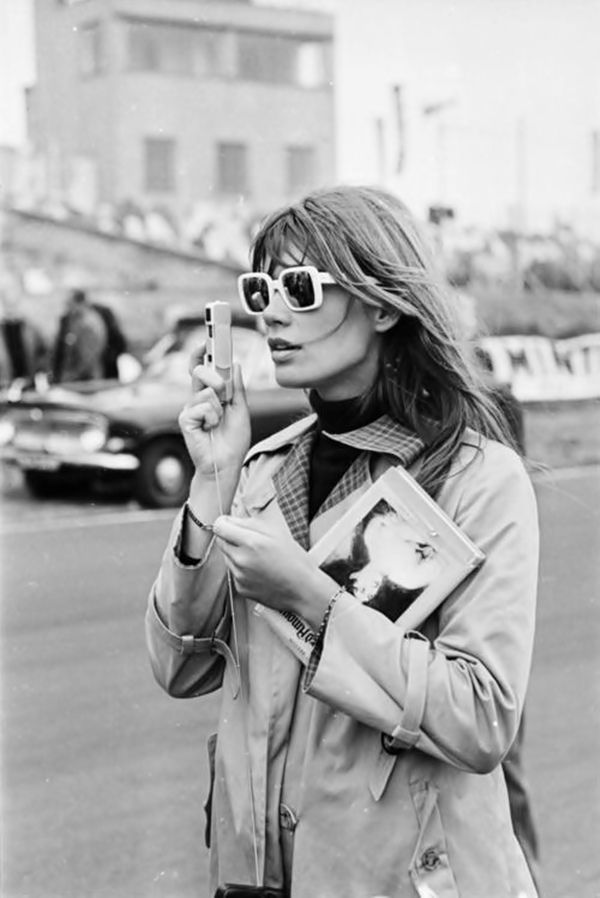 Francoise Hardy Black & White Sixties Photo Paris