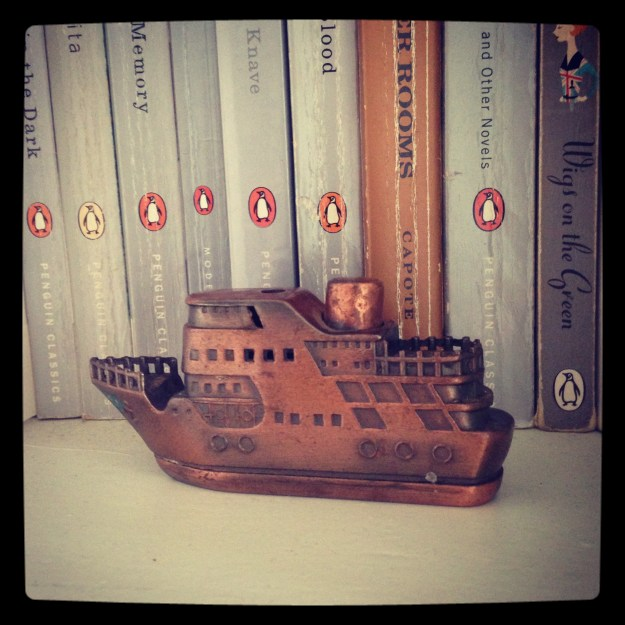 Vintage Copper Ship Lighter