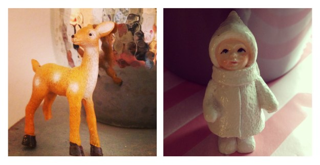 Kitsch Der Snow person Christmas Figurines