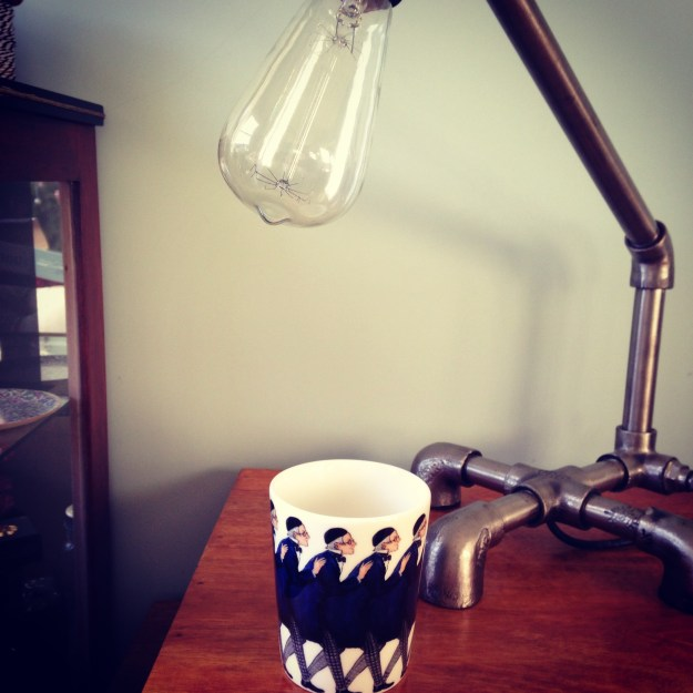 My favourite Chruistmas Present - Blue Uncle cup by Elsa Beskow by Design Hopuse Stockholm at Skandium