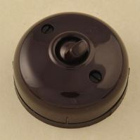 Brown Bakelite Dolly light switch