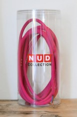 nud textile bright pink cable