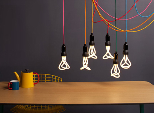 Golfball plumen lightbulbs fab