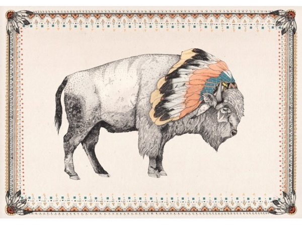 sandra-dieckmann-white-bison-nativeamerican-headdress