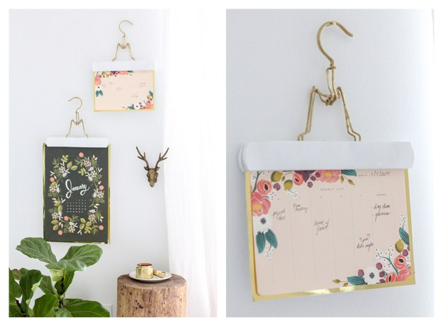 Sugar and Cloth Anthropologie Riffle Paper Co hanging