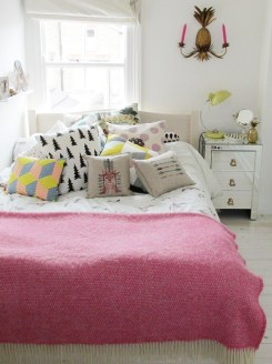bedroom neon colour pop