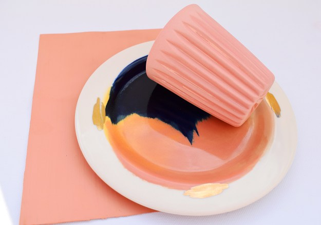 Copper Blush, painterly ceramic plate, studiolenneke_wispelwey_ceramics (2)