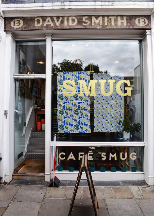 Lizzie for Smug Design Festival launch, london store