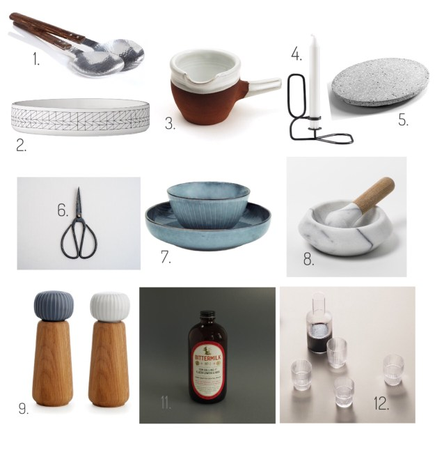 Design Lovers Gift Guide 2016 Scandi Homewares Kitchenalia