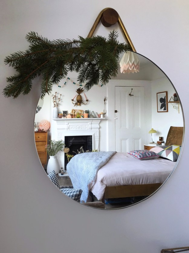 scandinavian rustic bohemian white nordic geometric hygge bedroom