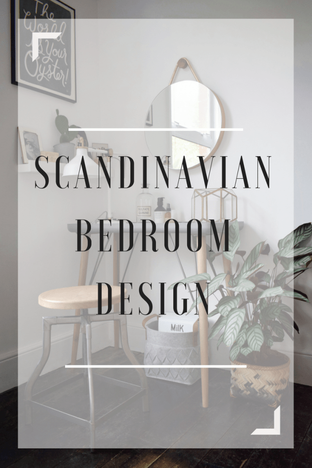 scandinavian rustic bohemian white nordic geometric hygge bedroom urban jungle bloggers