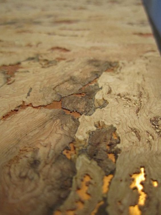 cork and gold wallpaper, cork interiors trend ideas, uses and inspration in interior design and home decor