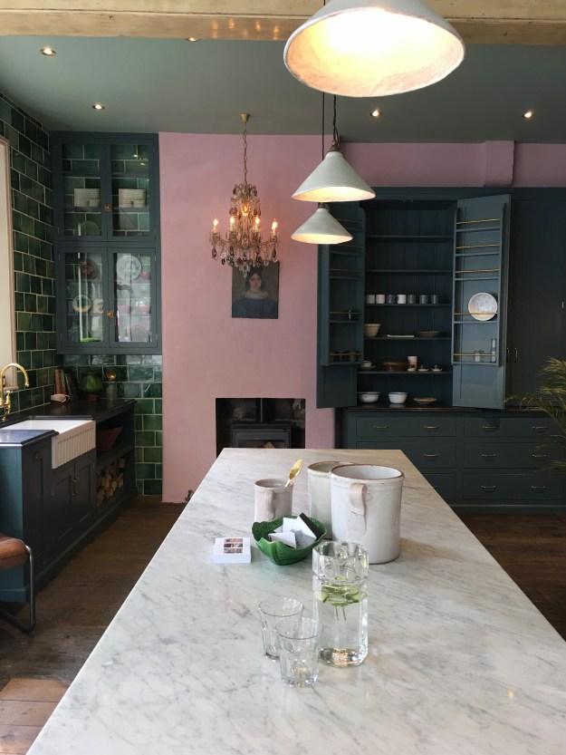 Clerkenwell Design Week 2017 -Devol Kitchens townhouse styling