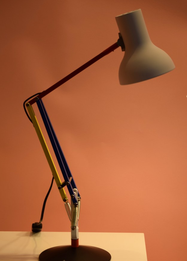Clerkenwell Design Week 2017 - Paul Smith x anglepoise lamps 2