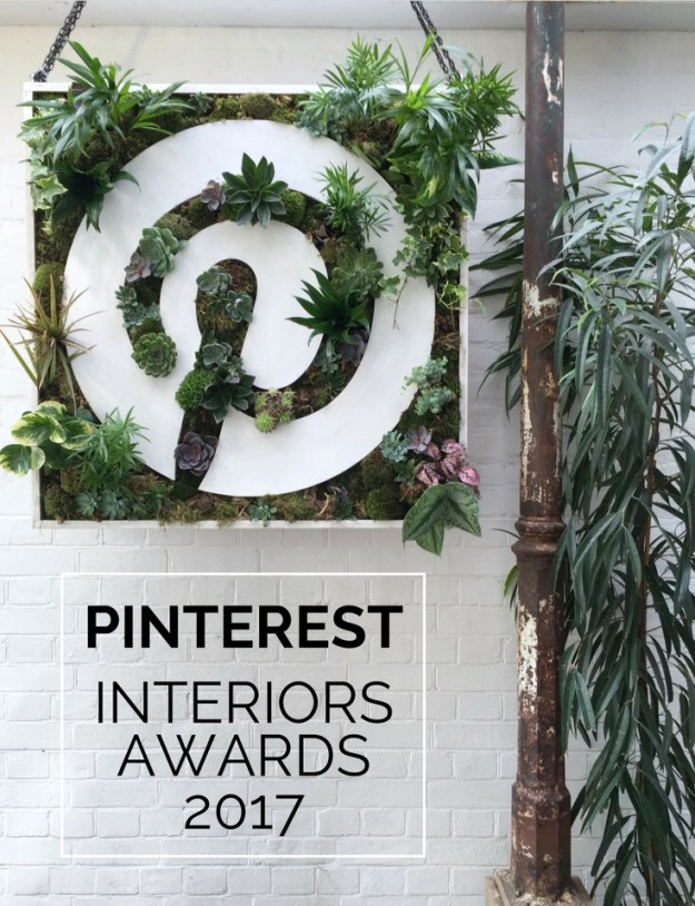 Pinterest Interiors awards 2017 at Bourne & Hollinsworth London, terrarium wall party display