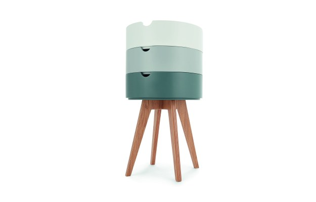 MADE.COM UK_Cairn_Bedside_table_Grey_wes anderson stacking bamboo tray table
