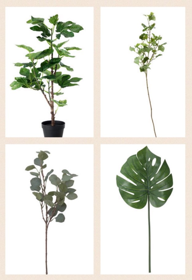 Ikea Faux Plants