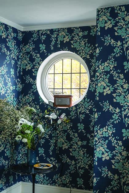 Hegemone New Farrow & Ball Wallpaper designs 2017 Floral