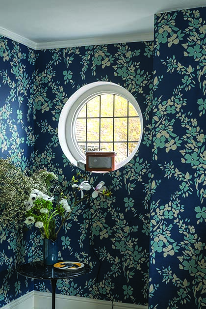 Hegemone New Farrow & Ball Wallpaper designs 2017 Floral