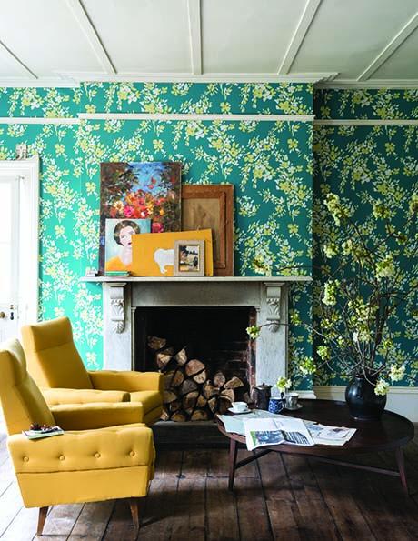 New Farrow & Ball Wallpaper designs 2017 Atacama Floral (2)