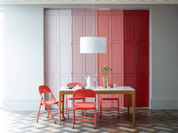 Shutterly Fabulous - Colourful shutter ideas and inspiration window dressing style Solid (closed with light)